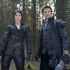 Left to Right: Gretel (Gemma Arterton) and Hansel (Jeremy Renner) in Hansel and Gretel: Witch Hunters.